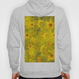 Narcissus bouquet Hoody