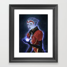 the justicar Framed Art Print