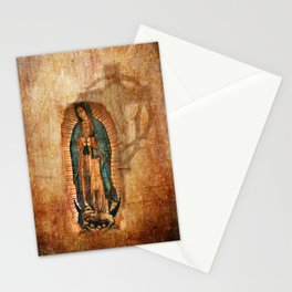Antique Vintage Our Lady of Guadalupe Stationery Cards