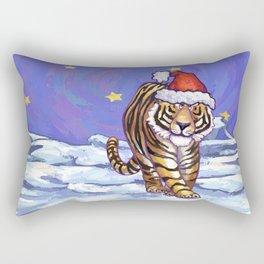 Tiger Christmas Rectangular Pillow