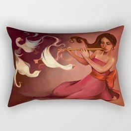Whistling Ducks Rectangular Pillow