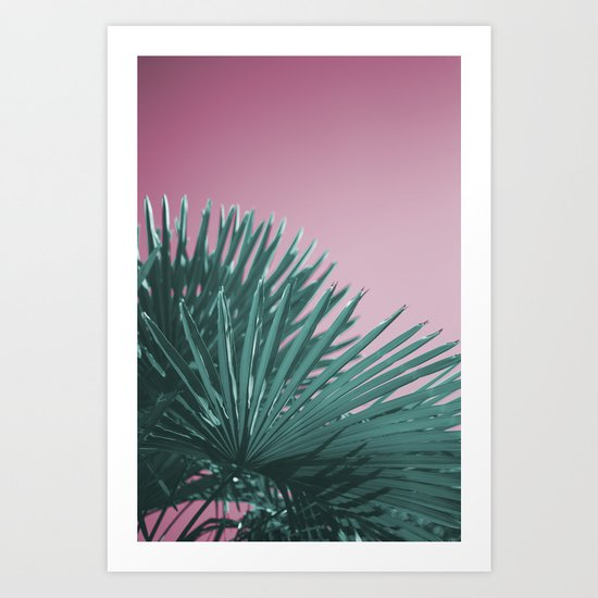 Pop Art Palms Art Print