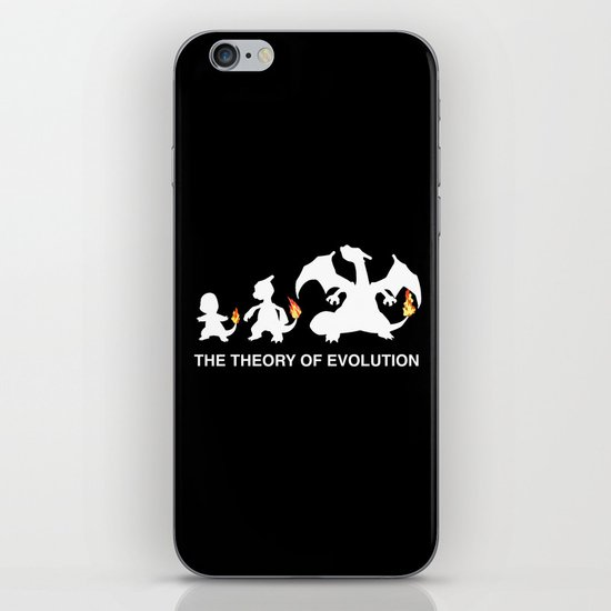 The Theory of Evolution  iPhone & iPod Skin