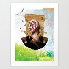 Shock Art Print
