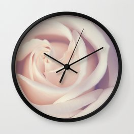 An Offering White Rose Wall Clock