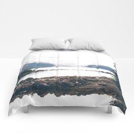 Gloomy Garibaldi Comforters