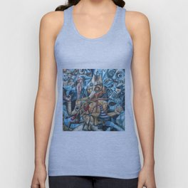 The Sea In The Fish Unisex Tank Top