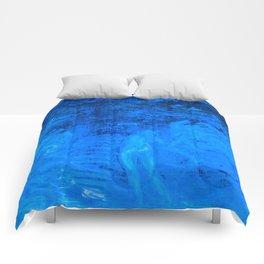 In liquid Indigo Comforters