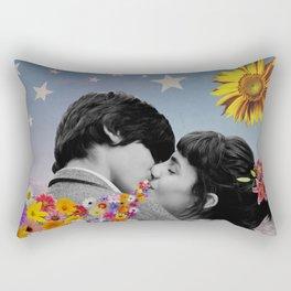 That Kiss Rectangular Pillow