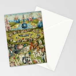 Hieronymus Bosch The Garden Of Earthly Delights Stationery Cards