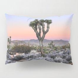 Joshua Tree Sunset. Joshua tree. Pink. Tree. Desert. Mojave. California. Pillow Sham