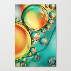 Oil and Water Wave Canvas Print