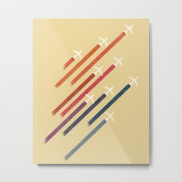 Aerial display (ver.2) Metal Print