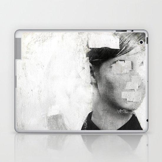Faceless | number 01 Laptop & iPad Skin