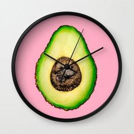 AVOCADO HEDGEHOG Wall Clock