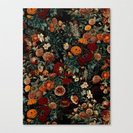 EXOTIC GARDEN - NIGHT XXI Canvas Print