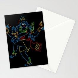 Neon Nataraj Stationery Cards