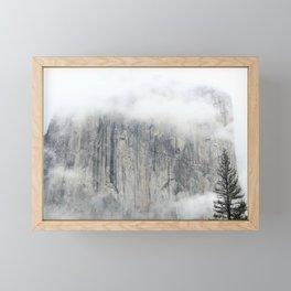 Misty in the Park Framed Mini Art Print