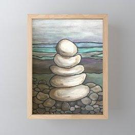 Rockpile Framed Mini Art Print