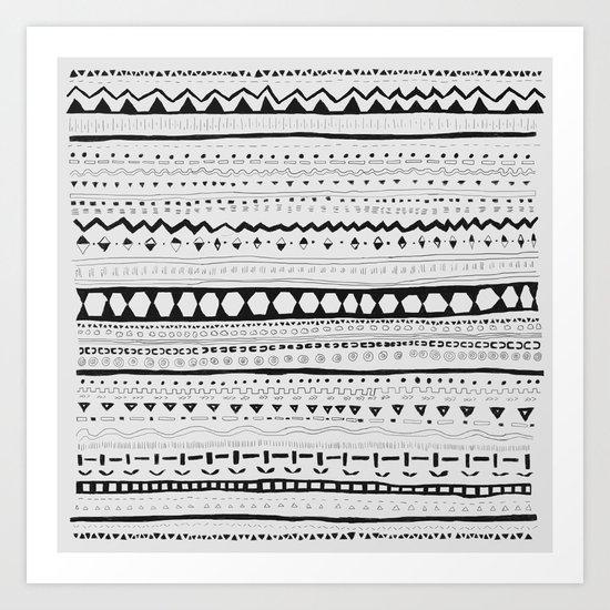 Pattern #1 Art Print