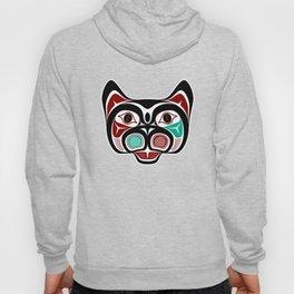 Northwest Pacific coast Haida Kitty Hoody