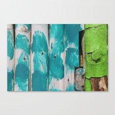 Swim Shack Colours  Canvas Print