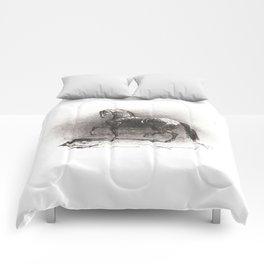 "Théodore Géricault ""Dappled Horse"" Comforters"