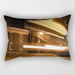 Last Tram Home Rectangular Pillow