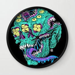 Skull Monster Wall Clock