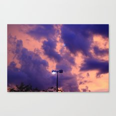 clouds(still) Canvas Print