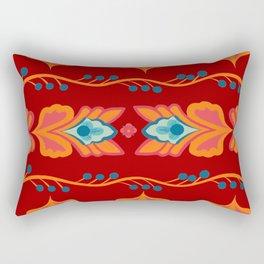 Asian Pattern Rectangular Pillow