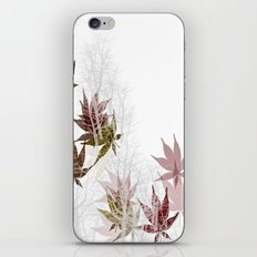 Leaves and Trees iPhone & iPod Skin
