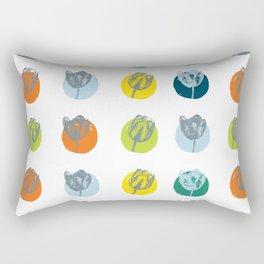 Tulip Twister Rectangular Pillow