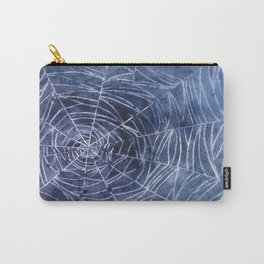 Spiderweb in watercolor Carry-All Pouch
