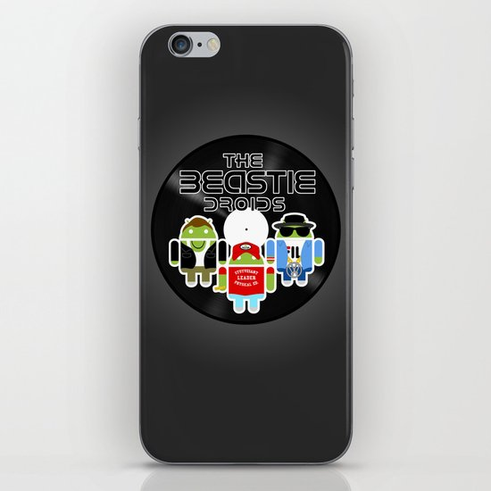 The Beastie Droids iPhone & iPod Skin