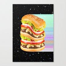 Big Burger Canvas Print