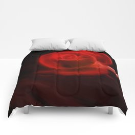 Electric Red Comforters