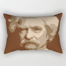 Mark Twain Rectangular Pillow