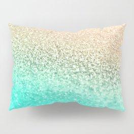 GOLD AQUA Pillow Sham