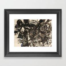 Komfo-Adu: A Haunting from the Atlantic Ocean Framed Art Print