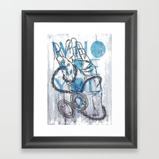 Something not to forget. Framed Art Print