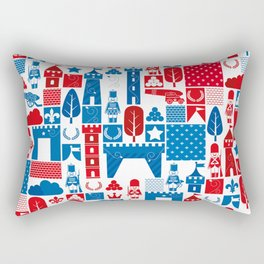 The Great War of Toy Soldiers Rectangular Pillow