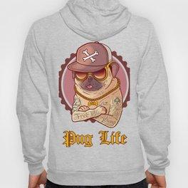 PUGLIFE - FUNNY PUG Hoody