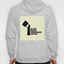 Black magic condensed COFFEE Hoody