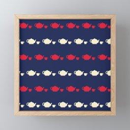 Tea for two Framed Mini Art Print