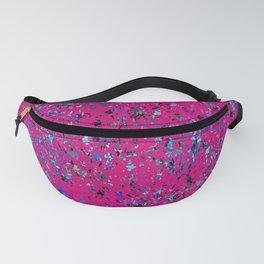 """""""Formica""""  Digital Design in Hot Pink Fanny Pack"""