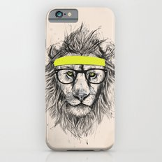 Hipster lion (light version) iPhone 6 Slim Case