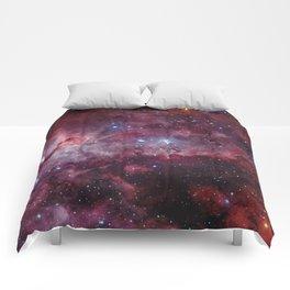 Carina Nebula of the Milky Way Galaxy Comforters