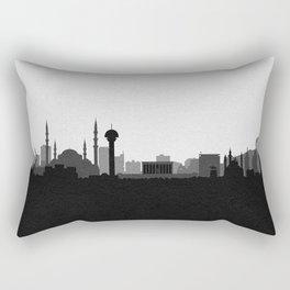City Skylines: Ankara Rectangular Pillow