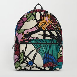 """Bird of Paradise"" by Margaret Preston Backpack"